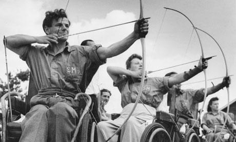 Athlètes aux jeux de Stoke Mandeville, 1960